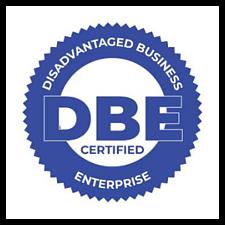 Disadvantaged Business Enterprise Certified Logo